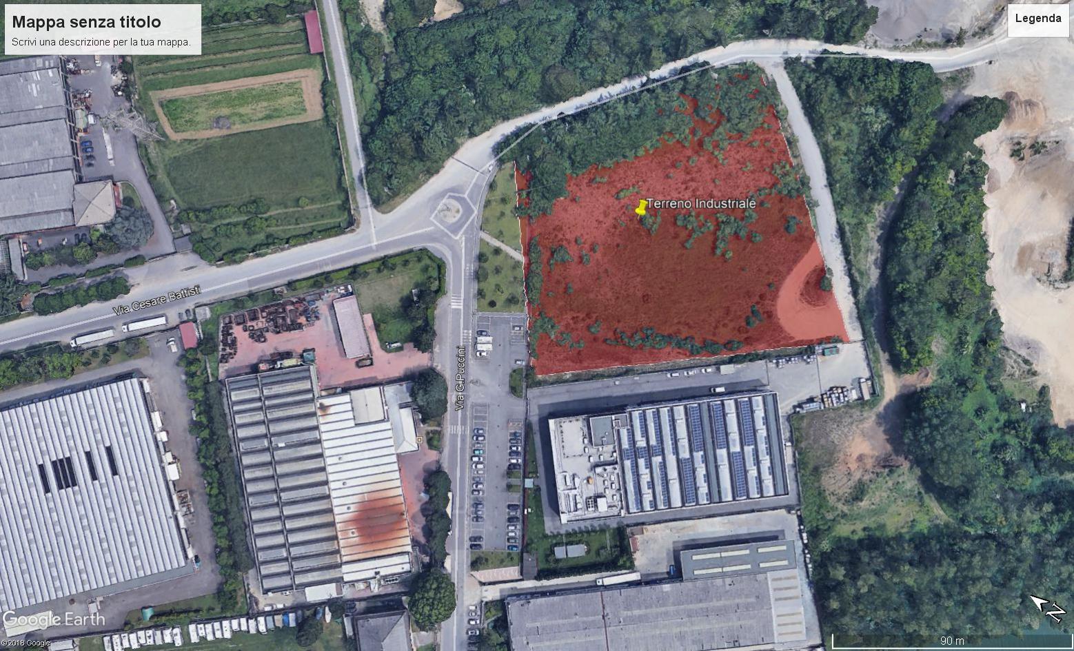 Terreno industriale San Vittore Olona
