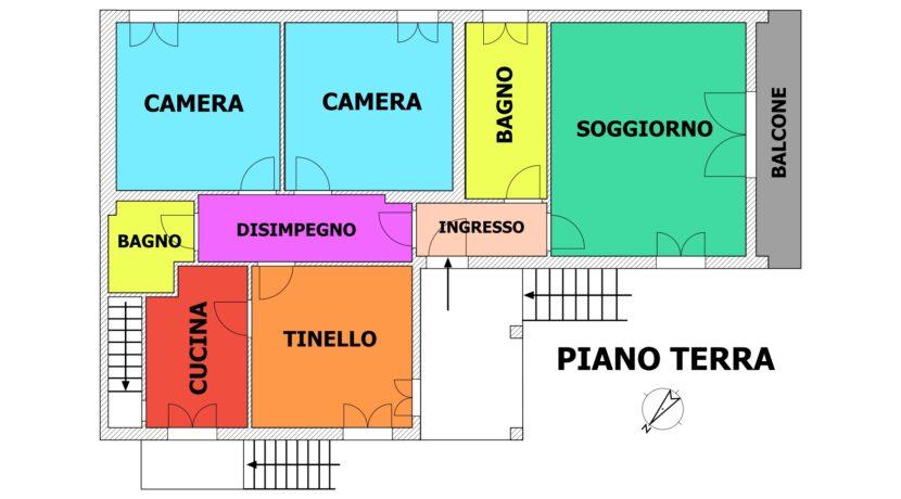 Villa Via Nievo P.T. Senza Giardino